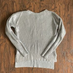 Silver sweater H&M